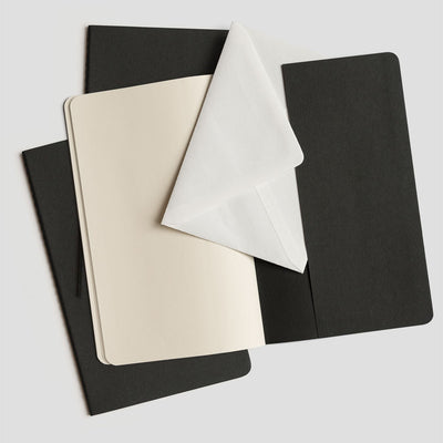 Moleskine Cahier Sets - Black - NZ Stockist - Paper Plane - Stationery - Moleskine Stockist - Notebooks