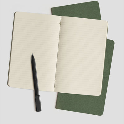 Moleskine Cahier Notebooks - Myrtle Green - Stationary - Gifts - NZ Stockist
