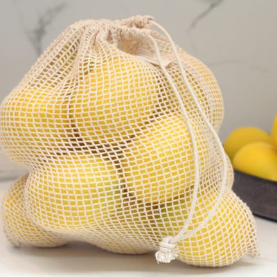 Organic Cotton Produce Bags - Reusable Produce Bags - NZ Stockist - Grocery - Market