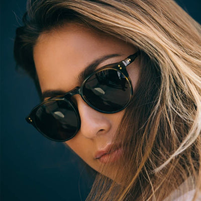 RAEN - Remmy Sunglasses - Black / Tan - Eyewear - NZ Stockist - Shop Online - Paper Plane
