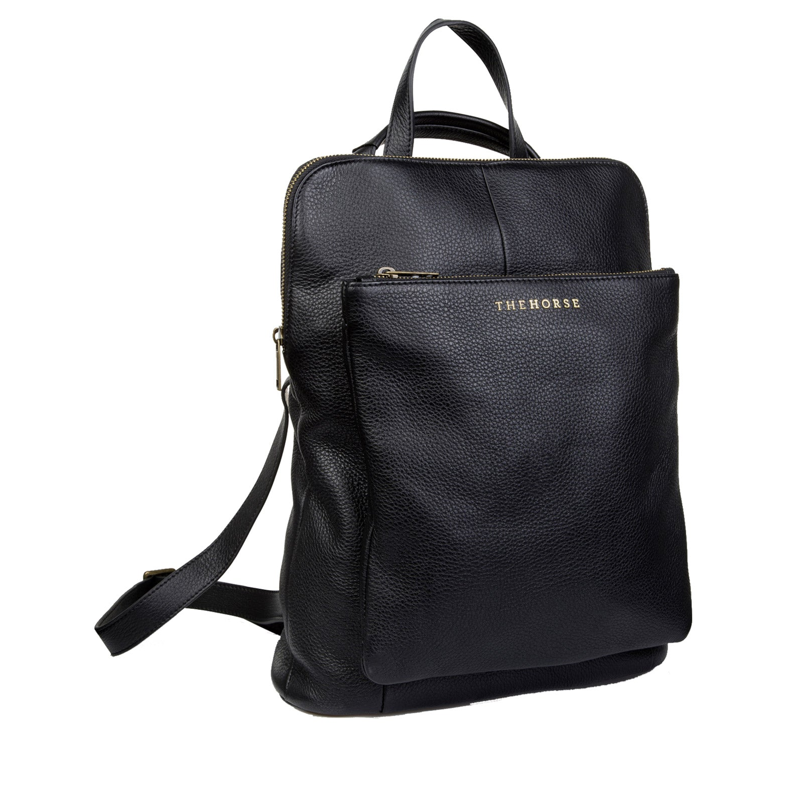 Leather Backpack - Black - The Horse - Paper Plane Exclusive - NZ