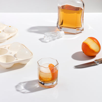 Silicone Ice Cube Tray -  Marble Black / Sphere Mold - Mt Maunganui Store - Paper Plane - NZ Stockist