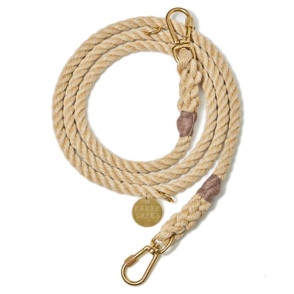 Dog Leash - Light Tan