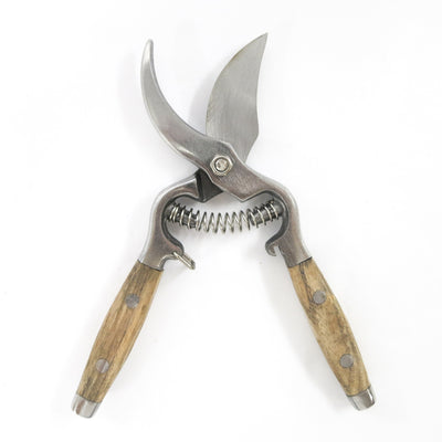Secateurs with Wooden Handle