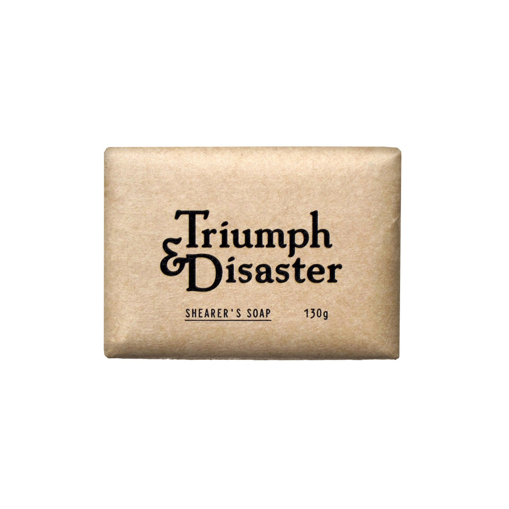 Triumph & Disaster - Shearers Soap
