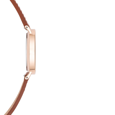 The Horse - Classic - Rose Gold / Tan Leather