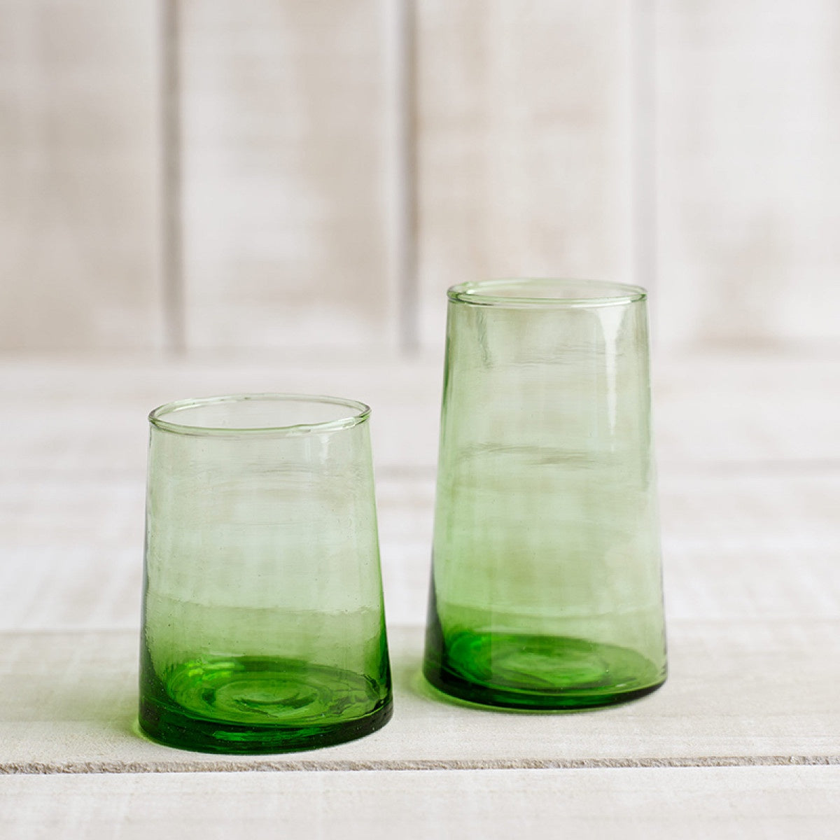 Beldi Green Wine Glasses