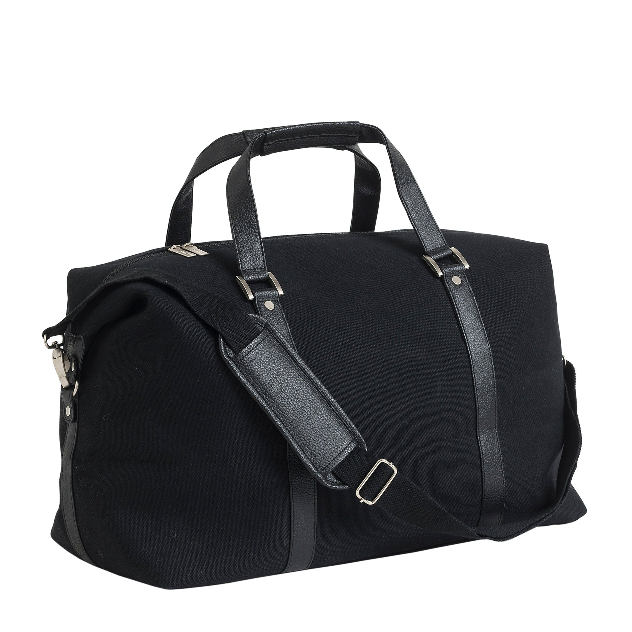 7c5c29350b92 Canvas Weekender Bag - Black