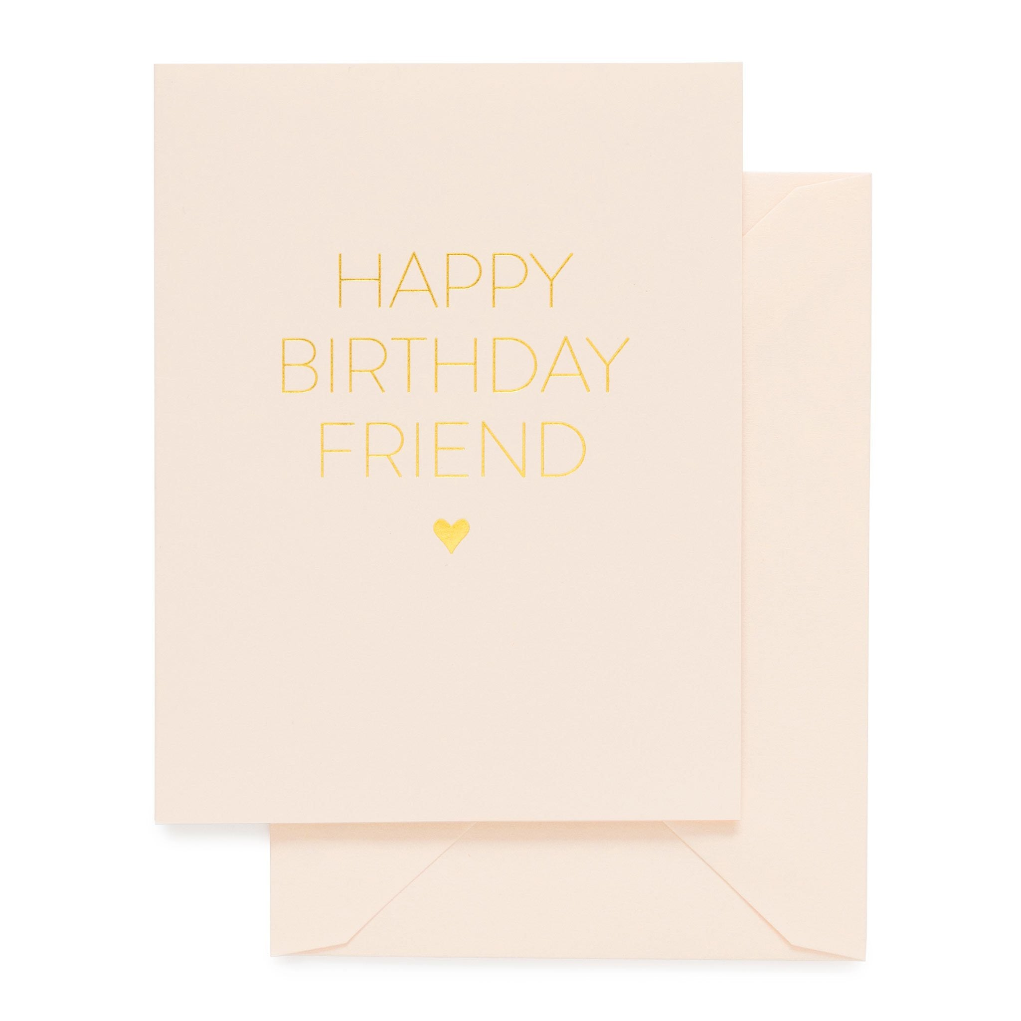 Paper Plane - Sugar Paper - Happy Birthday Friend - $9NZD