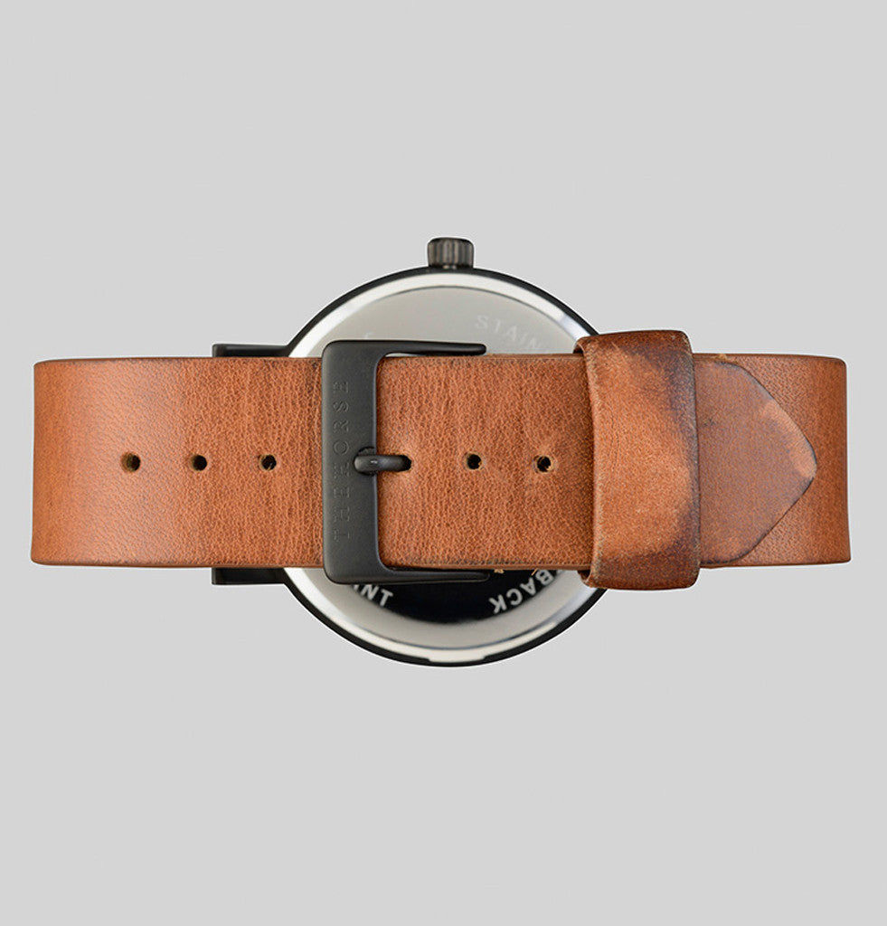 tan leather watch strap the horse men's watches