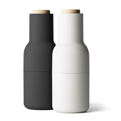 Menu Bottle Grinders - Ash & Carbon