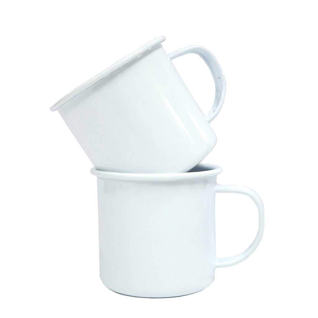 Enamel Mugs - White