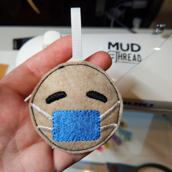 Mask Emoji Ornament