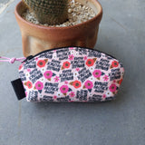 Sweary Petal Pouches, Small only