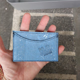 Light Blue Front Pocket ID Wallet