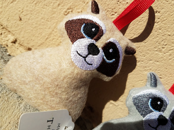 Racoon Ornament