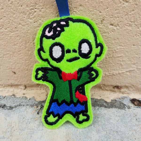 Zombie Boy Ornament