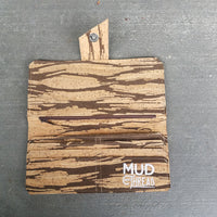 Brown Stripes Long Wallet