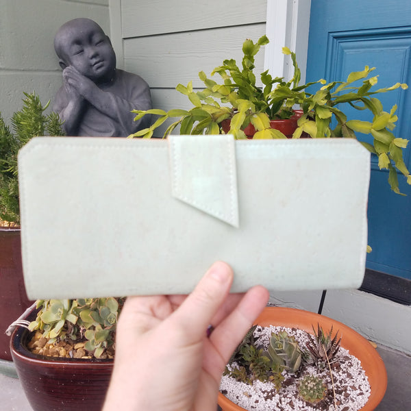 Seafoam Long Wallet