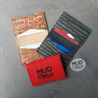 RED Cork  Biz Card Wallet