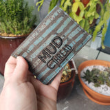 BLUE & BLACK Cork  Biz Card Wallet