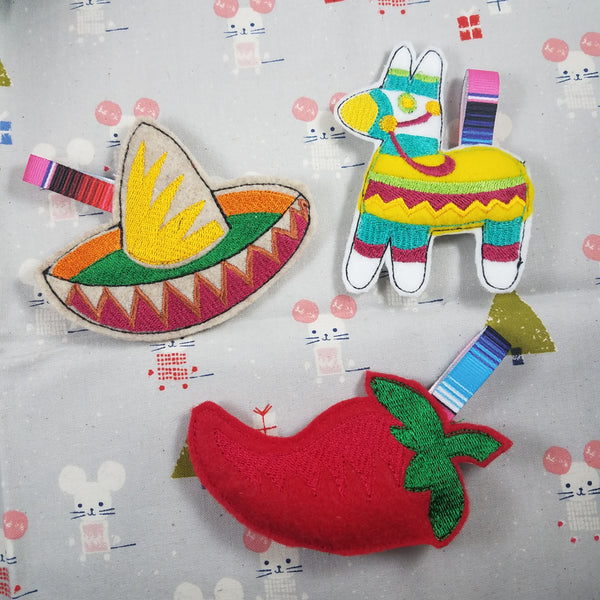 Mexican Themed Tree Ornament