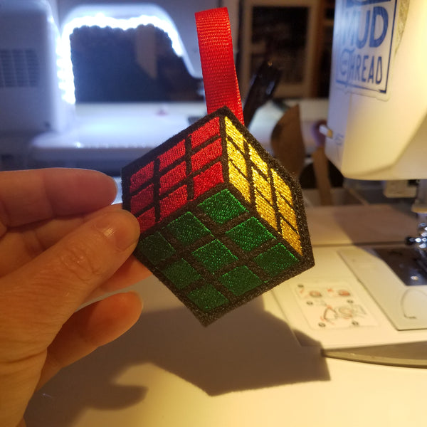Rubik Ornament