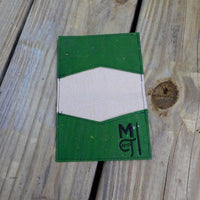 Green Cork  Biz Card Wallet
