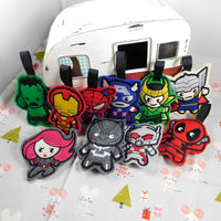 Marvel Ornaments