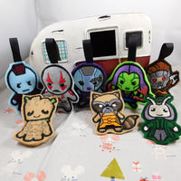 Guardians Of The Galaxy Ornaments