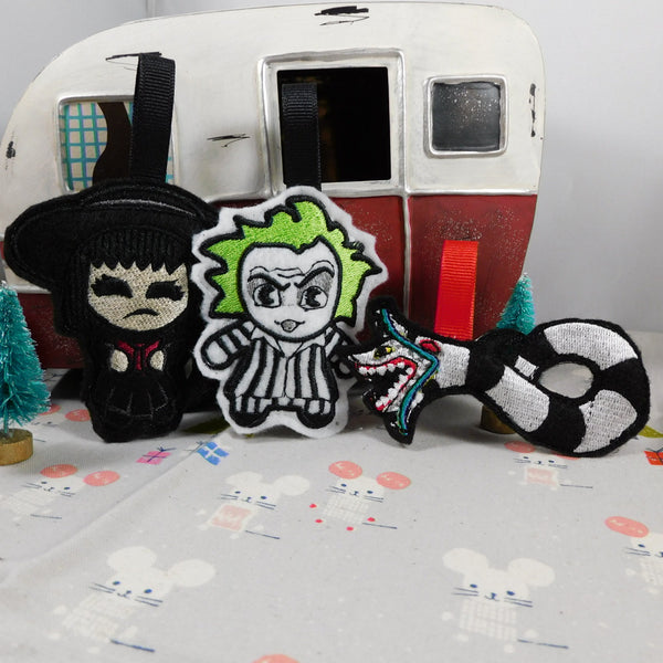 Beetlejuice Ornaments