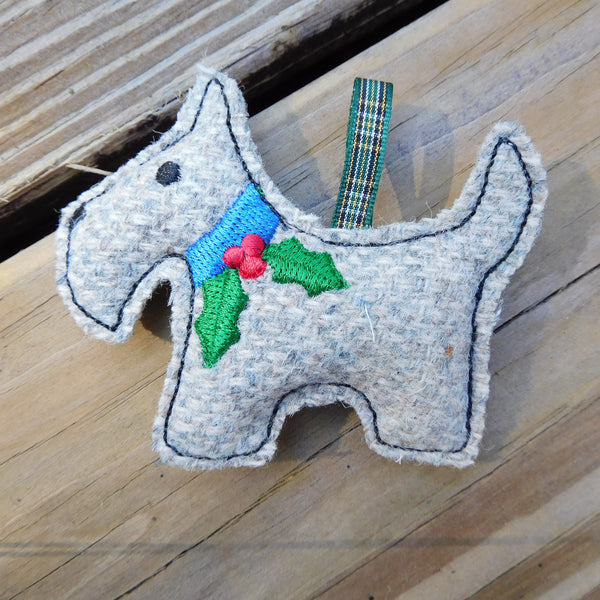 Harris Tweed Scottie Dog