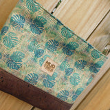 Palm Leaves Cork Shoulder Bag