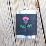Thistle Flask, 8 oz Flask