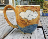 """In the Clouds"" Mug"