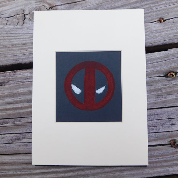 Deadpool Block Print