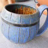 Barrel Blue Mug