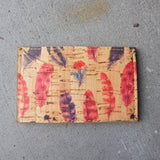 Feathers Front Pocket ID Wallet