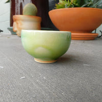Solid Green Glaze Bowl