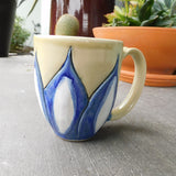 Blue & White Flower Mug