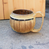 Barrel #1 Brown Mug