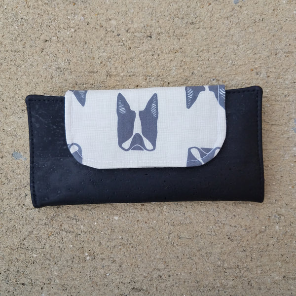 Cork Slimline Wallet:: Dog