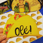 Ole! Taco Coin Purse