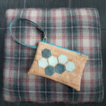 Hexi Cork & Shoes Clutch