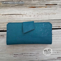 Blue Tall Wallet