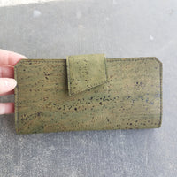 Olive Tall Wallet