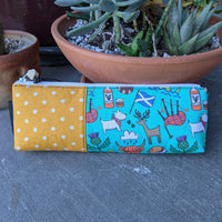 All Things Scottish Canvas Pencil Case