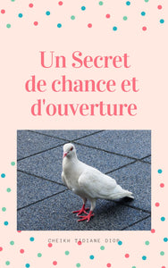 Un secret de chance avec le pigeon blanc