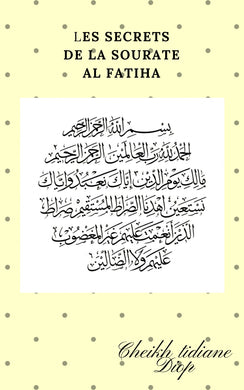Secrets de la sourate Al Fatiha