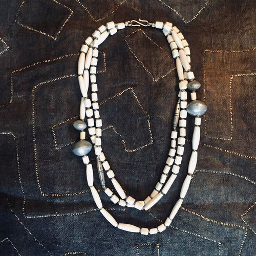 Triple Cascade Necklace